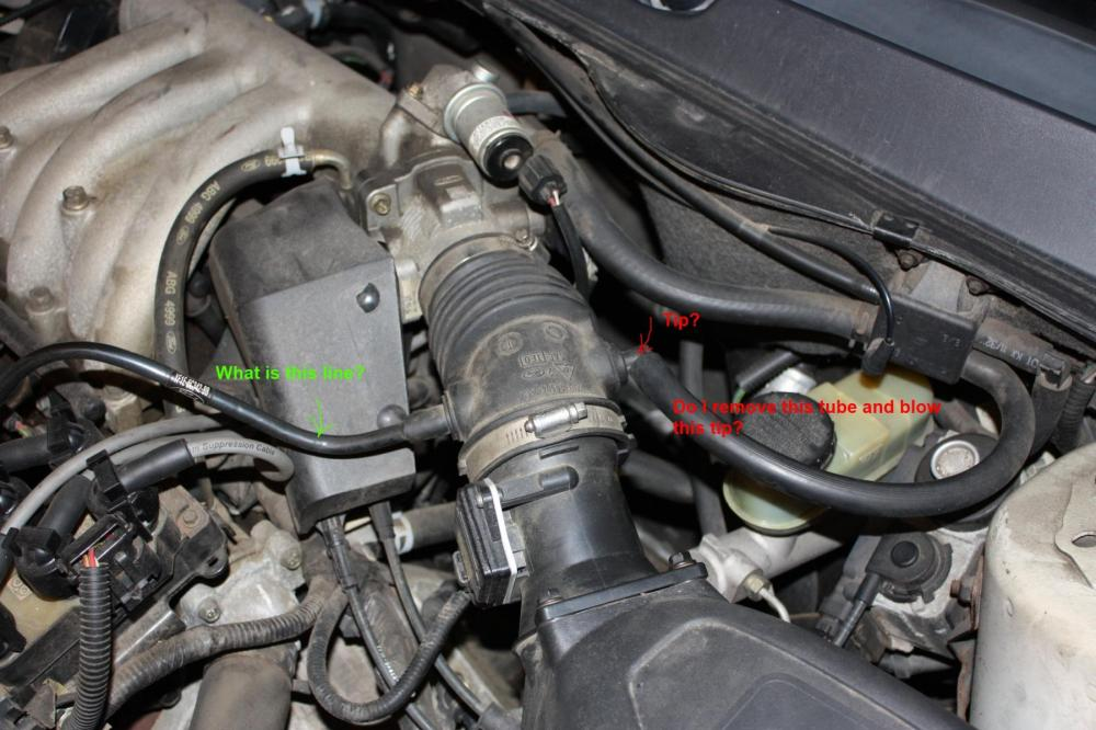 medium resolution of how to perform vacuum leak test with smoke taurus car 2002 nissan xterra belt diagram 2002