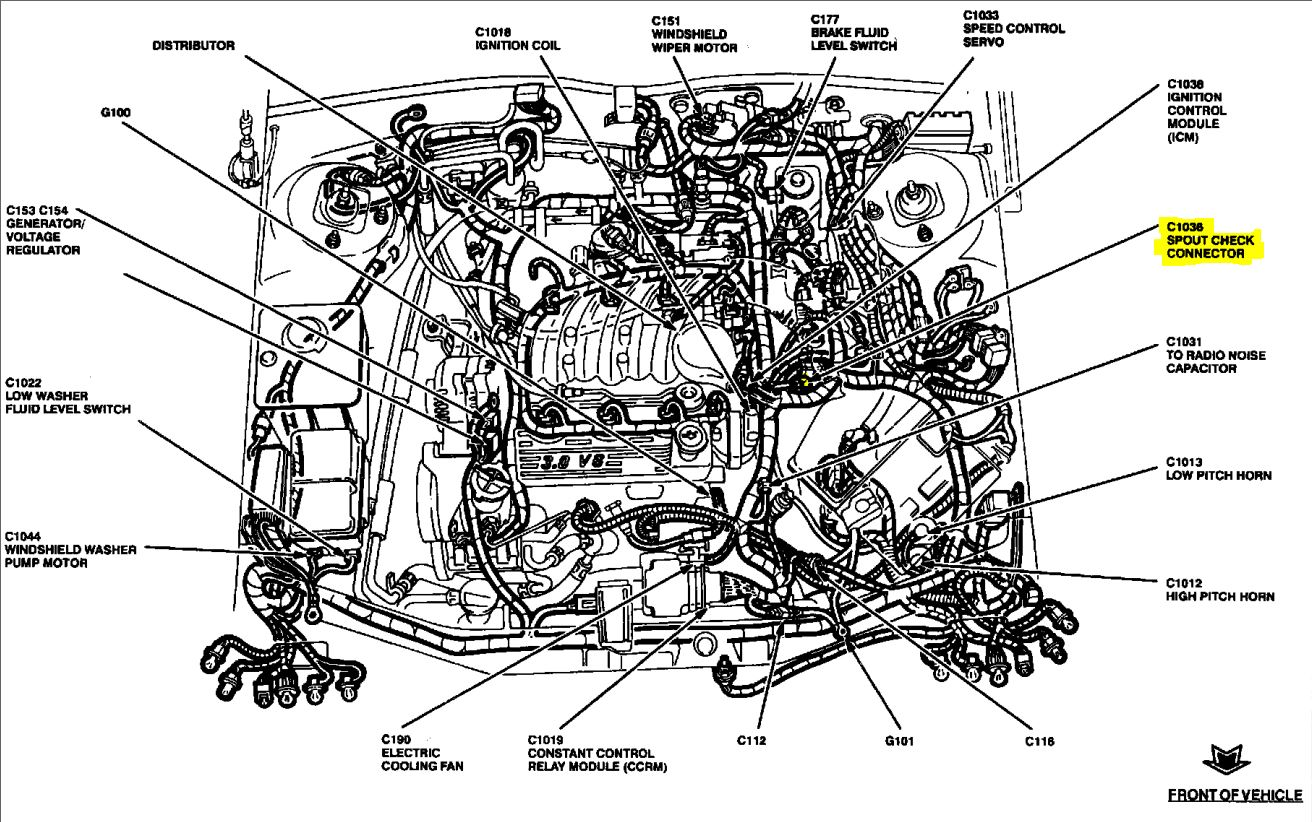 2005 ford taurus spark plug wiring diagram world political spectrum 2001 escape cylinder free engine image
