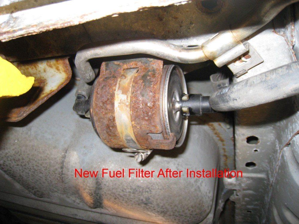 medium resolution of how to replace fuel filter 2000 taurus se with pictures taurus carclick image for larger version