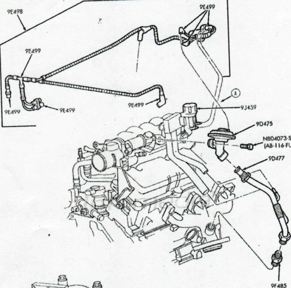 medium resolution of 2006 ford taurus fuel system diagram use wiring diagram 2006 ford taurus fuel system diagram