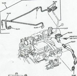 2003 Ford taurus vacuum hoses