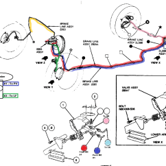 Ford Falcon Eb Radio Wiring Diagram 2008 Kia Spectra Stereo 2007 Taurus Brake Line Great Installation Of 93 Needs Some Help Page 2 Car Club America Rh Taurusclub Com 2000 Brakes System