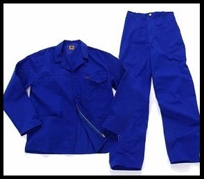 Royal Blue 2/piece Conti Suit overalls
