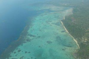 Luftaufnahme über Karimunjawa - Indonesien