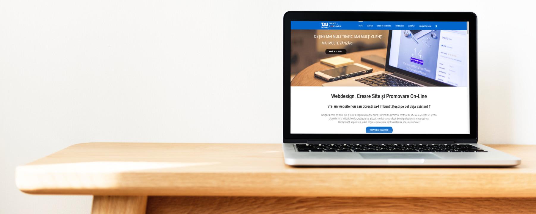 Webdesign Oradea. Creare website si promovare online.