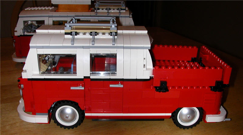 vw lego double cab zero to sixty eventually. Black Bedroom Furniture Sets. Home Design Ideas