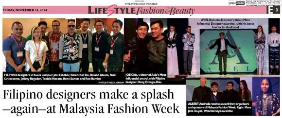 malaysia fashion week, wearista winner 2014, stylo winners, stylo international, malaysia fashion week winners, asia fashion week winners, tauyanm, wear app, filipino in malaysia, daily inquirer, style icon malaysia, malaysia fashion blogger, japan fashion blogger,
