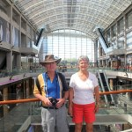 TOUR AROUND MARINA BAY SANDS WITH ALLAN & FAY