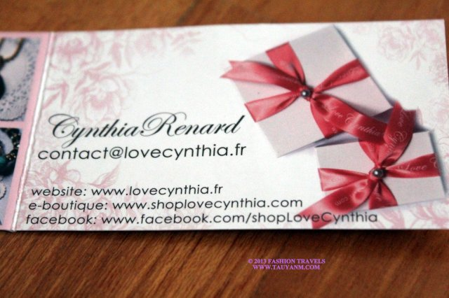 Love Cynthia Handmade In France Fashion Travels