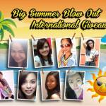 Big Summer Blow Out International #Giveaway!
