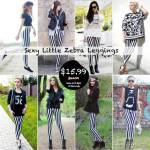 Romwe: Sexy Little Zebra Leggings Big Sale!