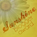 Sunshine Blogger Award: Random Facts About Me