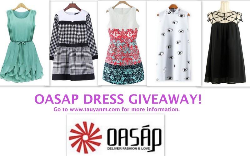 oasap dresses, oasap giveaway, malaysia blogger, oasap blogger