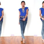 #OOTD: Gold and Blue