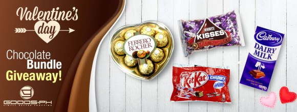 Goods.ph Valentine's Day Chocolate Bundle Giveaway