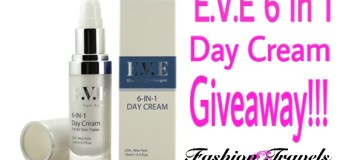 E.V.E 6 in 1 Day Cream Review + Giveaway!!