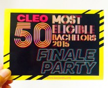 Get your Cleo 50 Most Eligible Bachelors Finale Party Tickets Here + Movie Tickets!