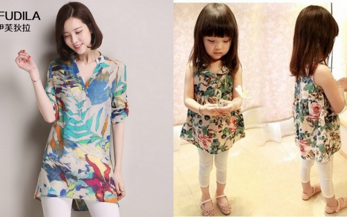 cincaibuy x tauyanm, mother and daughter outfit, ootd, lookbook,