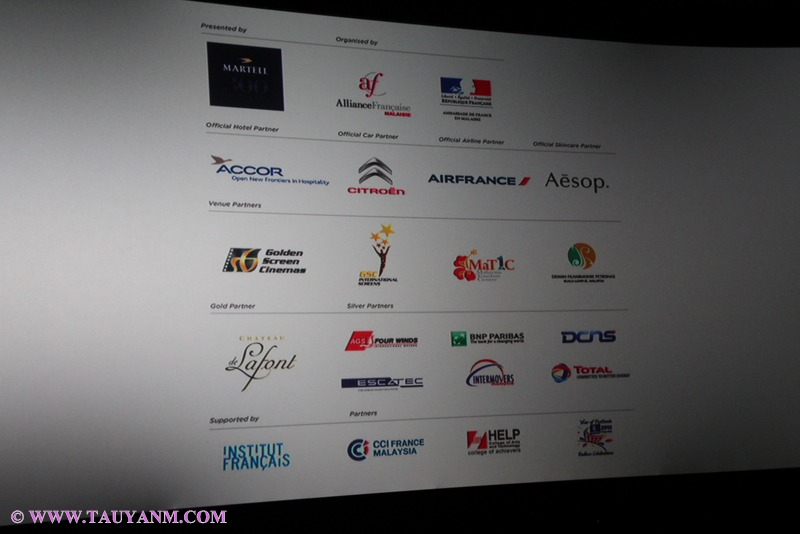 FRENCH ART AND FILM FESTIVAL, MALAYSIA