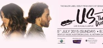 Us The Duo Live in Kuala Lumpur! 2 Pairs of Tickets Giveaway! #UsTheFamily