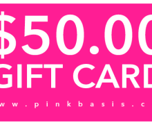 PinkBasis.com x Tauyanm.com $50 Gift Card International Giveaway!