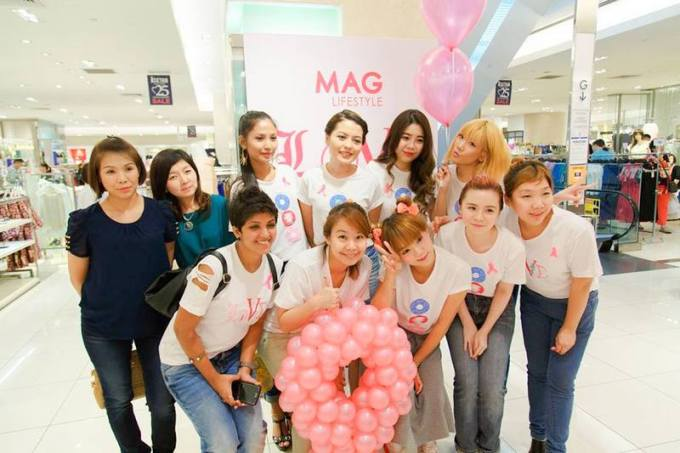 magazine boutique, breast cancer awareness
