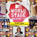 MTV World Stage Malaysia 2015 – Apink – Sekai No Owari – Carly Rae Jepsen – Jason Derulo – Stacy