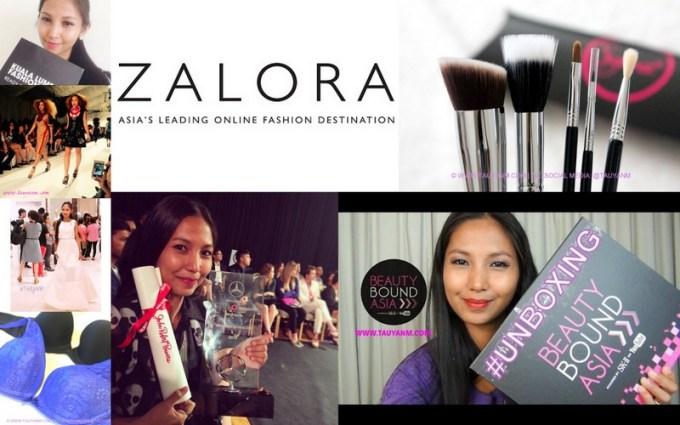 kl fashion week, zalora, malaysia fashion week, sigma brushes, beauty bound asia, klcitygp, triumph, clothes buffet, clozette