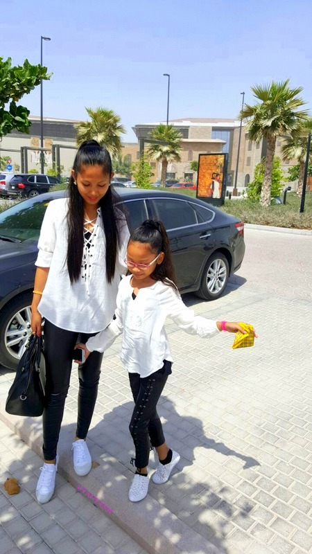 motherdaughter, dubaifashionblogger, ootd, lookbook, mydubai