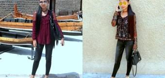 #OOTD: Maroon or Black?