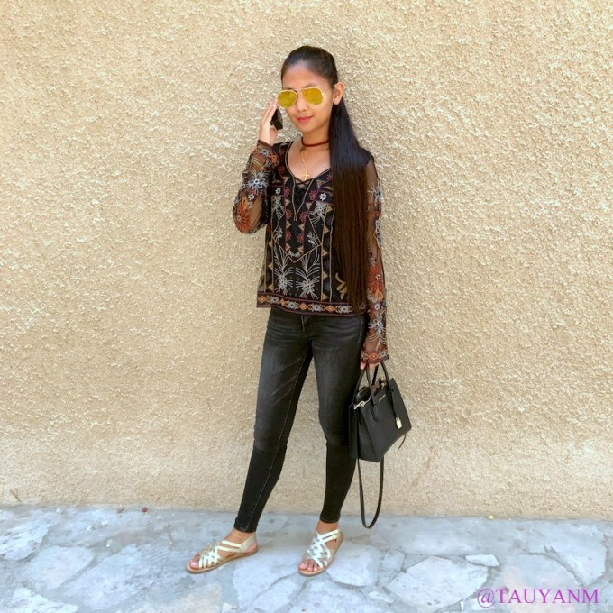 american eagle outfitters, maroon or black, dubai fashion blogger, ootd, lookbook,