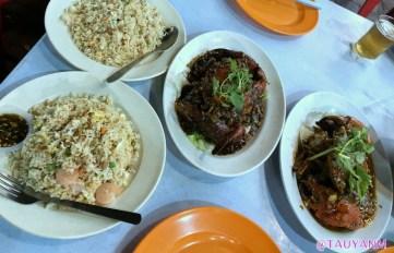 chilli crab, jalan alor, dubai blogger, malaysia blogger, food in malaysia