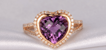 Amethyst Engagement Ring – The Potent Safeguard Against All Evil