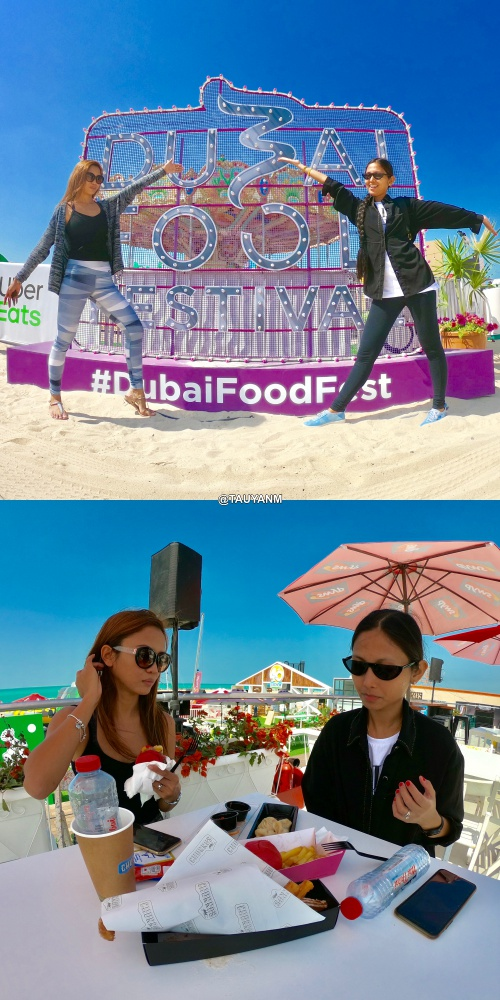 @dxbbeachcanteen, @dubaifoodfest, jane fashion travels, tauyanm, food festival, gopro photo, dubai blogger, filipino blogger