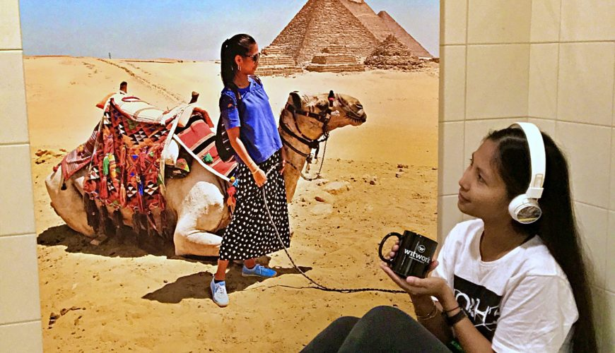 photowall review, tauyanm, jane fashion travels, dubai blogger, egypt, picture of the pyramid 2