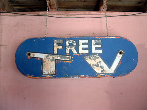 What Gives? - Paying For Free TV Three Times