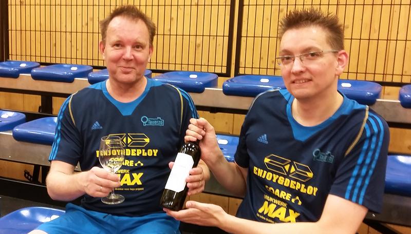 Winnaar Matthieu Wegh