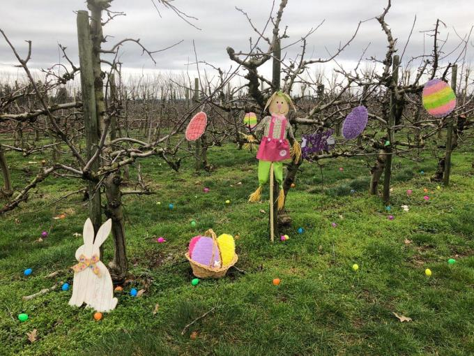 Easter event at Taves Family Farmsclass=