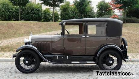 Taviclássicos - Ford A 1929
