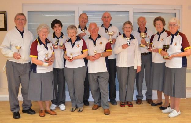 Short Mat Bowls Trophy Winners