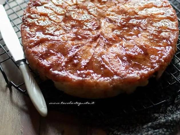 Torta di mele rovesciata ricetta-
