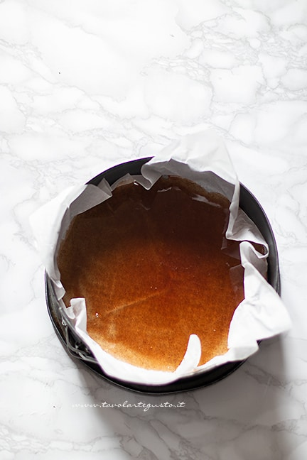 sciroppo caramellato per torta di mele rovesciata