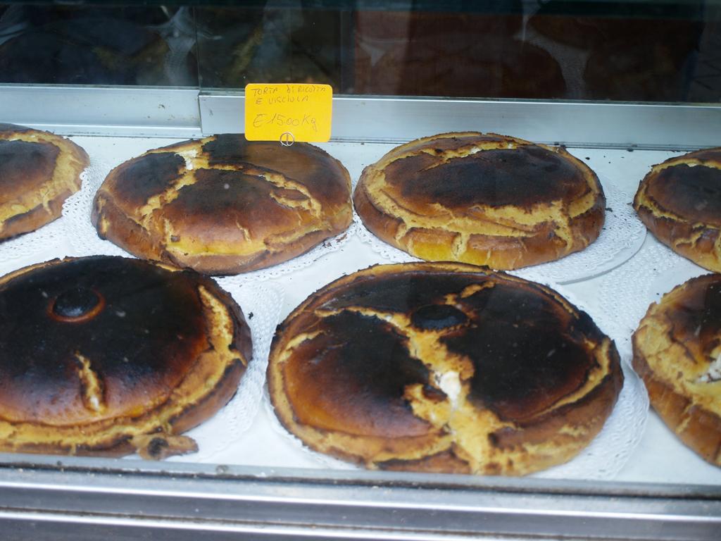 Boccione - Torte romane alla ricotta