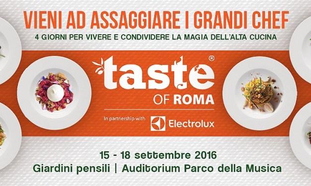 qbpost – TasteofRoma 2016 dal 15 al 18 settembre. Da non perdere!