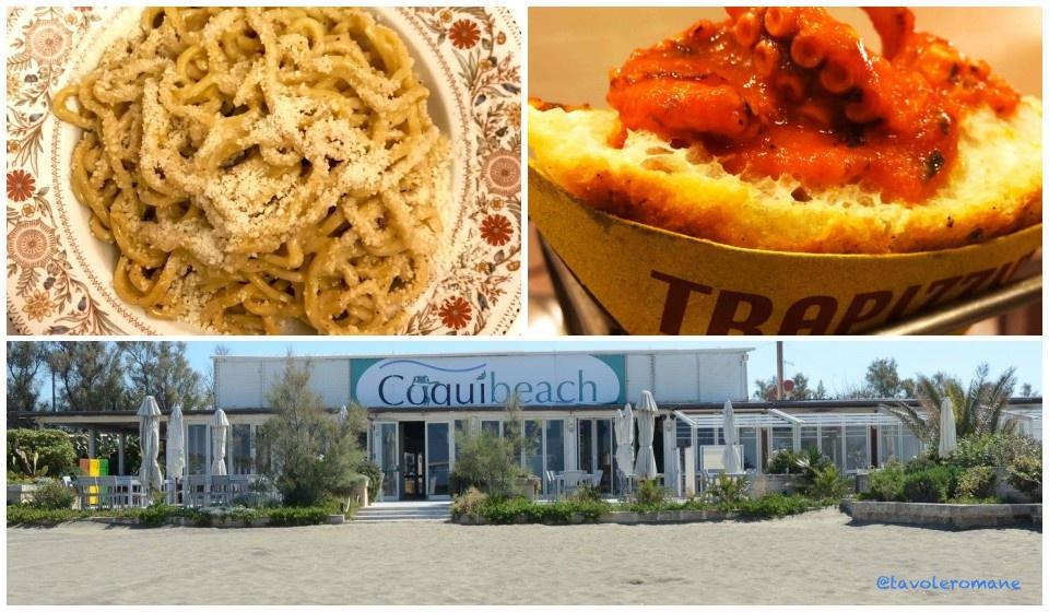 La Spiaggia dei Coqui sbarca a Fregene con la cucina di Flavio più Pizza e Trapizzino di Callegari