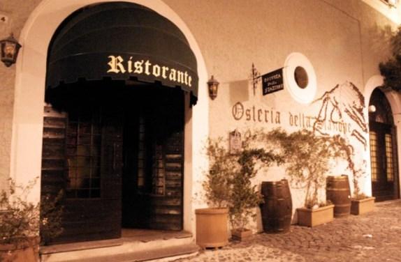 Osteria della Stazione a Marino, sapori del territorio ai Castelli Romani