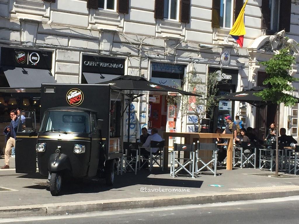 Caffè Vergnano Roma - Esterno Piazzale Flamini