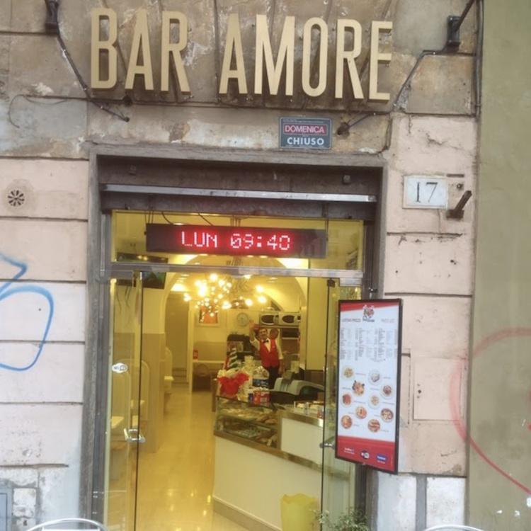 Bar Amore, Roma