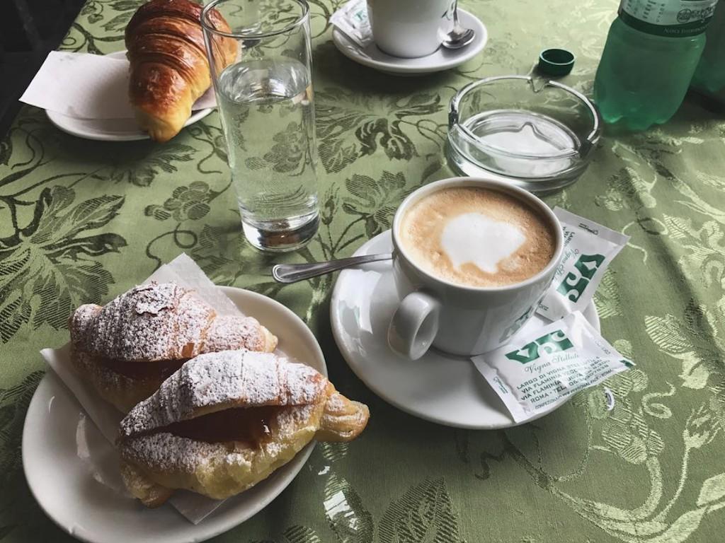 Vigna Stelluti Roma - Colazione