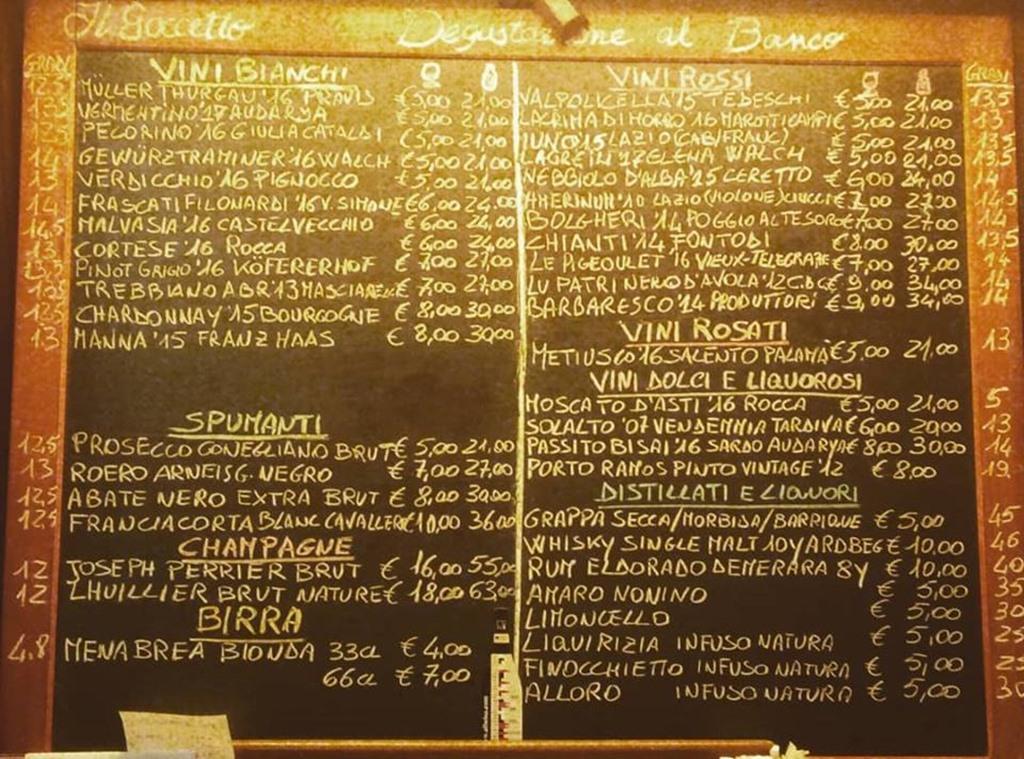 Wine Bar - Il Goccetto